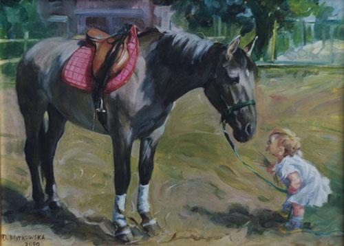 kon i dziecko, 33x41.jpg
